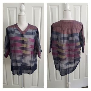Nwot Anthropologie The Odells cotton top M